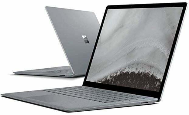Micorosoft-Surface-Laptop-2-i5-8350u-8GB-256ssd-13.5-Pantalla-tactil-W10-Pro-Platino