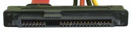 cinta de conexión de interfaz sas