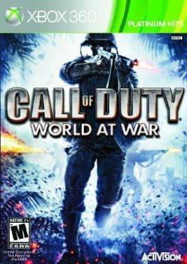 Activision Call of Duty World at War Platinum Hits