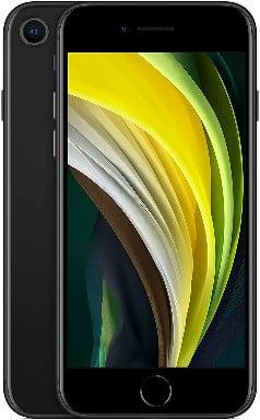 Apple iPhone SE (64 GB) - en negro (incluye Earpods, adaptador de corriente) de los mejores iPhones mas baratos