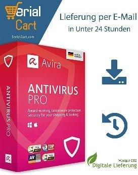 Avira Antivirus Pro 1 Dispositivo 1 Año ESD Descargar Email