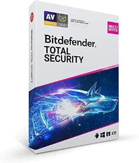 Bitdefender Total Security 2021 10 dispositivos 2 años