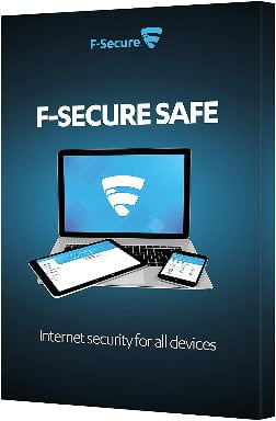 F-Secure Safe Internet Security Retail Box (1 Year, 5 Devices) (PC-Mac-Android)