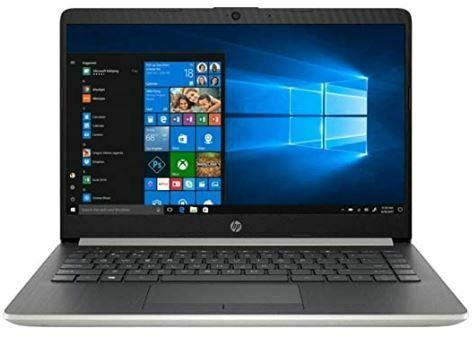 HP 14-inch HD Micro-Edge Display Laptop PC, AMD A9-9425 3.1GHz, 8GB DDR4 RAM, 128GB SSD, USB Type-C, Stereo Speakers, Bluetooth, WiFi, HDMI, Webcam, No DVD, AMD Radeon R5 Graphics, Windows 10