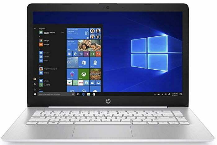 HP Stream - Laptop de 14 pulgadas, procesador AMD Dual-Core A4-9120E, memoria SDRAM de 4 GB, almacenamiento eMMC de 32 GB, Windows 10 Home en modo S con Office 365 Personal durante un año