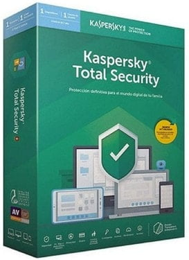 Kaspersky Software ANTIVIRUS 2020 Total Security 5 LICENCIAS