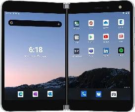 Microsoft Surface Duo Factory Unlocked GSM 6GB+128GB