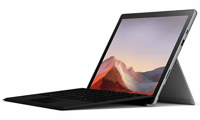 "mejor pantalla táctil Microsoft Surface Pro 7 - Ordenador portátil 2 en 1 de 12.3"" (Intel Core i5-1035G4, 8GB RAM, 128GB SSD, Intel Graphics, Windows 10)"