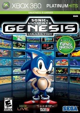 SEGA Sonic's Ultimate Genesis Collection Xbox 360