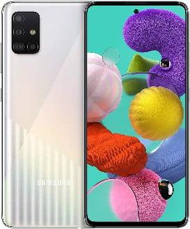Samsung Galaxy A51 - Dual SIM, Smartphone de 6.5 Super AMOLED (4 GB RAM, 128 GB ROM, cámara Trasera 48.0 MP + 12.0 MP + 5.0 MP + 5 MP, cá