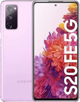 Samsung Galaxy S20 FE 5G, Smartphone Android Libre, Color Lavanda [Versión española] de los mejores teléfonos inteligentes