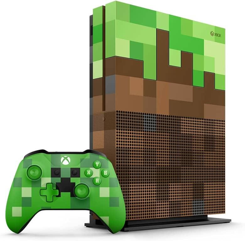 Xbox One S - Consola 1 TB Minecraft - Edición Limitada-min
