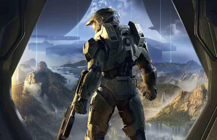 Halo Infinite foto en corriendo solo en portátiles para juegos