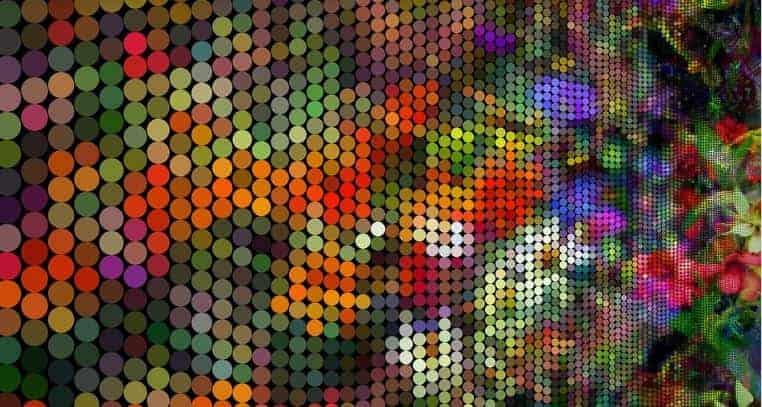 representación de pixeles en la resolucion de pantalla