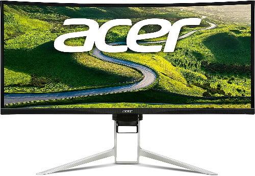 Acer XR XR382CQK 37.5 4K Ultra HD IPS Negro, Plata pantalla para PC - Monitor