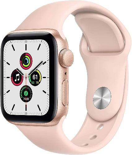 Los Mejores Relojes inteligentes del 2020 Apple Watch SE (GPS, 40 mm) Caja de aluminio en oro