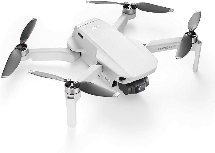 DJI Mavic Mini - Dron Ultraligero y Portátil, Duración Batería 30 minutos, Distancia Trasmisión 2 Km