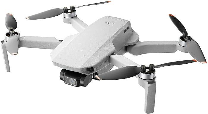 DJI Mini 2 - Dron Ultraligero y Plegable , 3 Ejes Gimbal con Cámara 4K, Foto 12MP, 31 Minutos de Vuelo, OcuSync 2.0 HD Transmisión