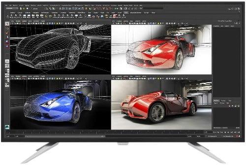 De los mejores monitores de pantalla grande en 4K el Philips BDM4350UC