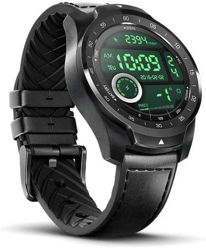 Ticwatch Pro 2020 - Smartwatch, 1GB RAM, Pantalla en Capas para Larga duración de la batería, NFC, 24H frecuencia cardíaca, GPS