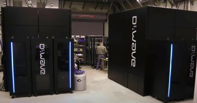 Computadora Cuántica de la empresa canadiense D-Wave