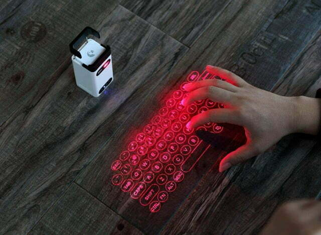 Guía para comprar teclado de proyección láser