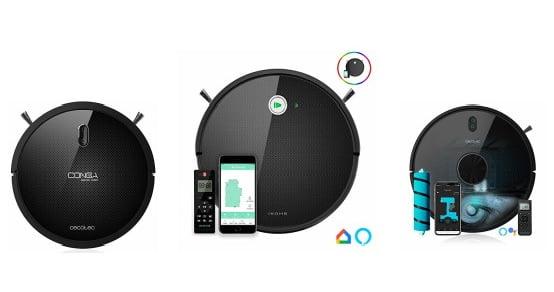 robot aspiradora para el hogar control por móvil