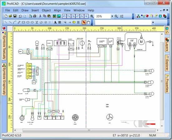 Simuladores de Circuitos Eléctricos y Electrónicos ProfiCAD