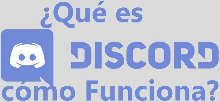 Logo de discord con un cartel de Que es y cómo funciona