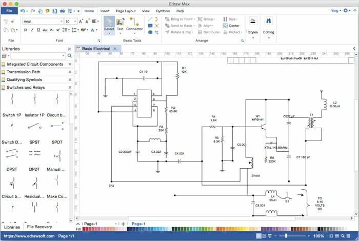 Simuladores de Circuitos Eléctricos y Electrónicos VISIO