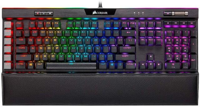 Corsair K95 RGB Platinum XT en mejores teclados del 2021