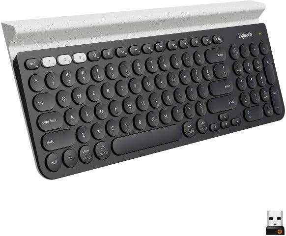 Logitech K780 en mejores teclados del 2021