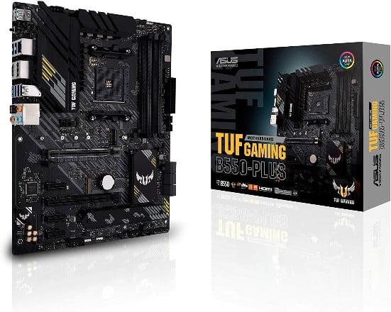 ASUS TUF Gaming B550-PLUS Mejor placa base AMD de presupuesto