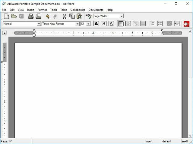 AbiWord: uno de los procesadores de texto gratuitos simple pero excelente