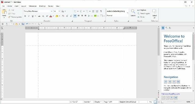 TextMaker de FreeOffice: de los mejores procesadores de word gratis