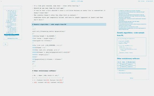 WriteMonkey: de los mejores procesadores word gratuitos con un estilo minimalista