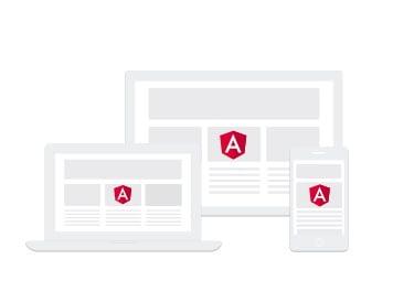 Angular framework creado por Google y se puede crear PWA o Progressive Web App