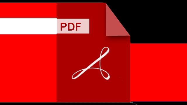 ¿Qué es un archivo con extensión PDF?