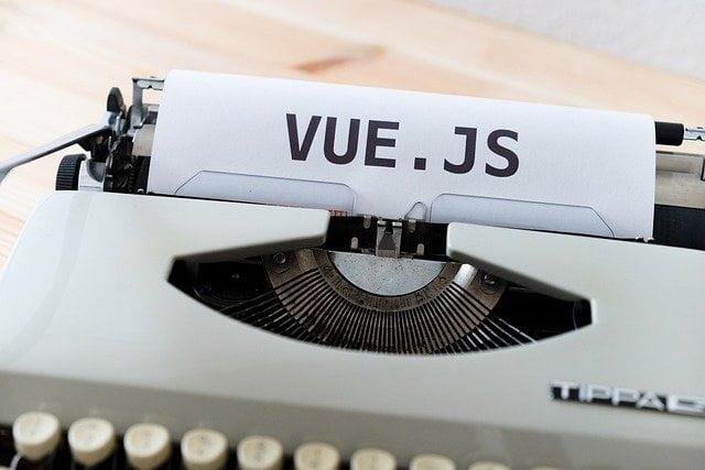 Vue.js no es más que es un framework de JavaScript de código abierto para desarrollar interfaces de usuario y aplicaciones de una sola página