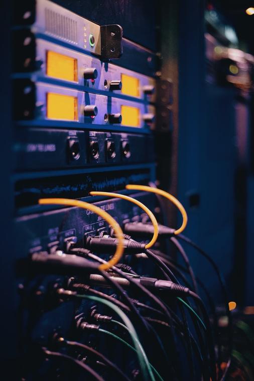 Equipos de interconexión de redes modernos.