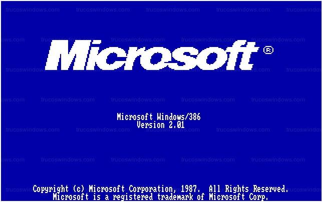 Arranque del sistema operativo Windows 2.0