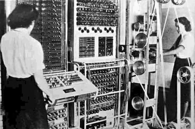 historia de los primeros ordenadores la máquina Colossus