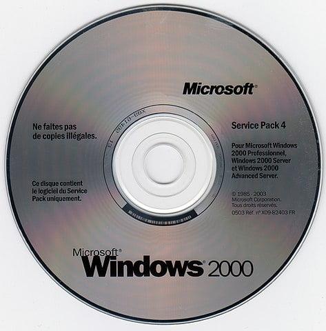 Windows 2000 con mucho éxito en el mercado de los servidores como en el de las estaciones de trabajo