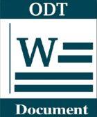 ¿Qué es un Archivo con Extensión ODT?