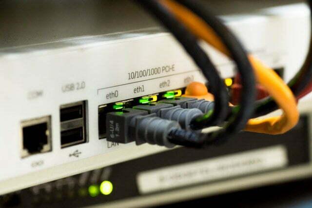 Medios de conexión de red