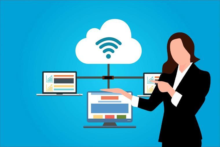 Representación del consumo de servicios en la nube