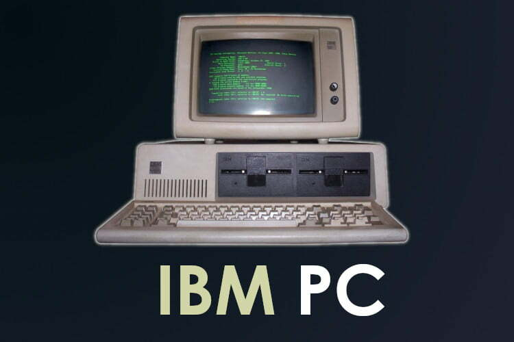 Historia de IBM PC