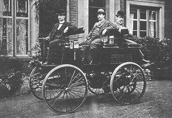 Carro eléctrico de Thomas Parker