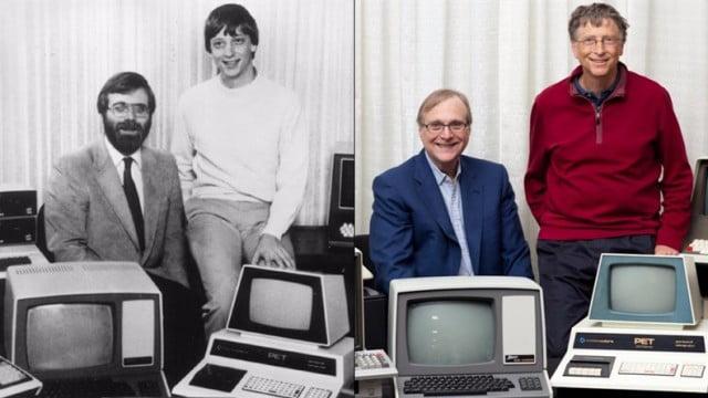 Historia de Microsoft Gates y Allen un antes y después