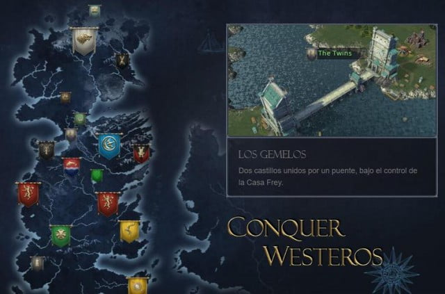 Juego Game of Thrones Winter is Coming